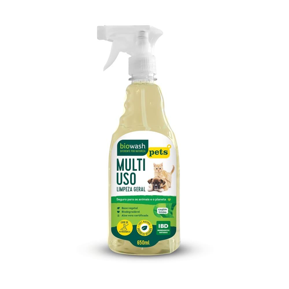 Multiuso Pet Capim Limão 650 ml Biowash