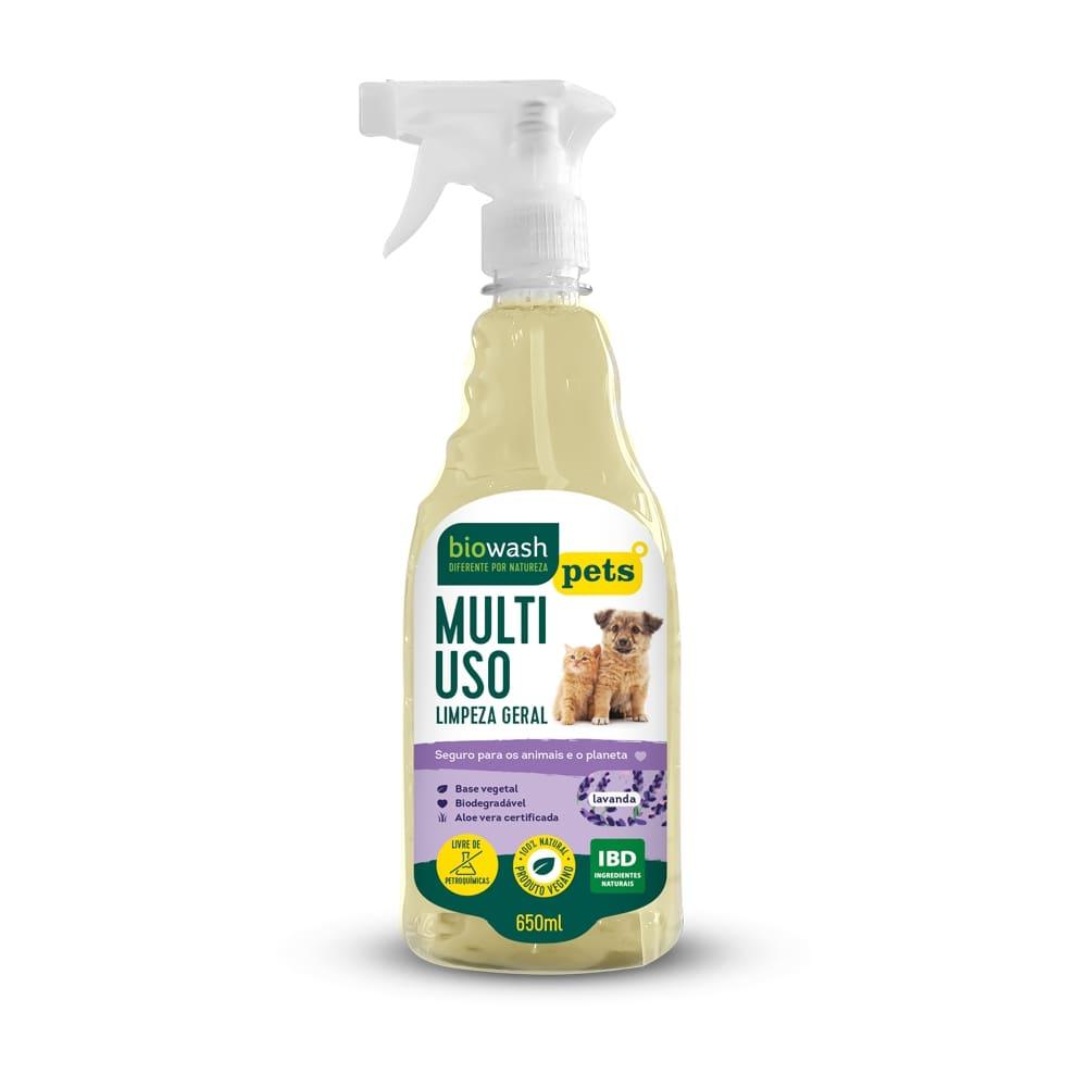 Multiuso Pet Lavanda 650 ml Biowash