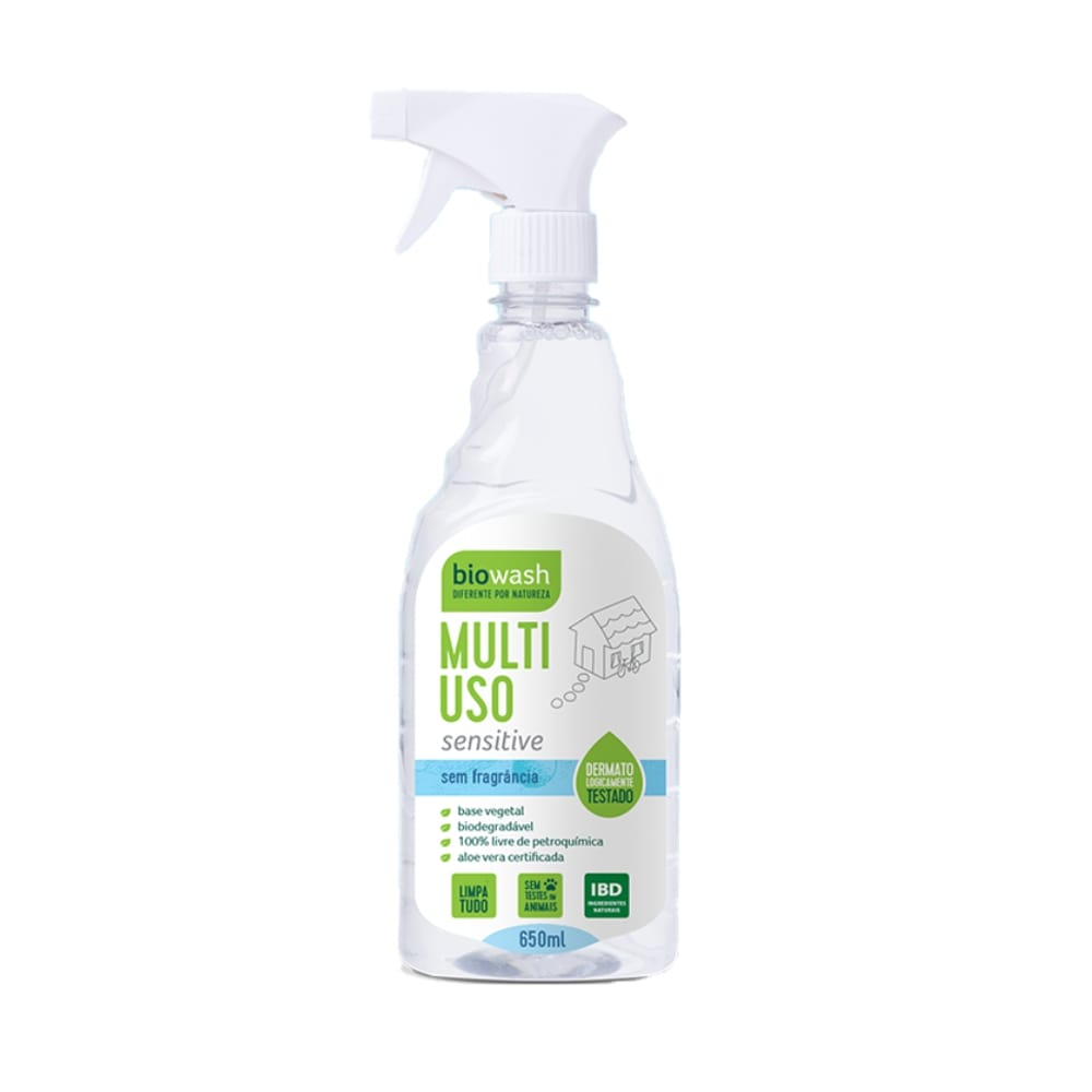 Multiuso Sensitive Gatilho 650 ml Biowash