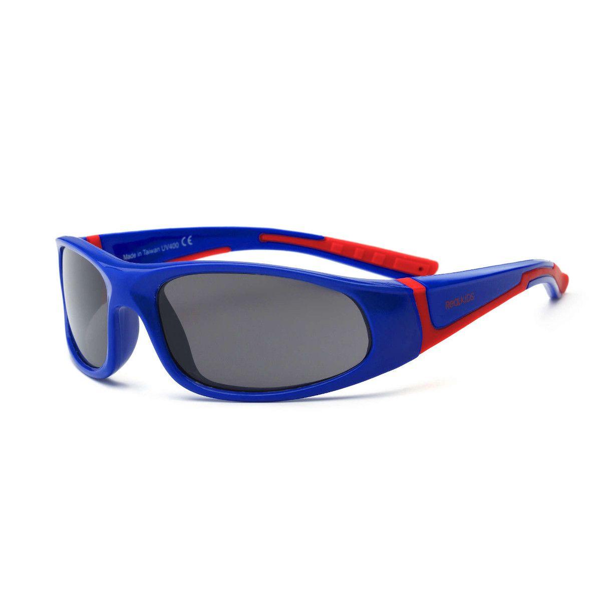 Óculos de Sol Bolt Azul e Vermelho Real Shades