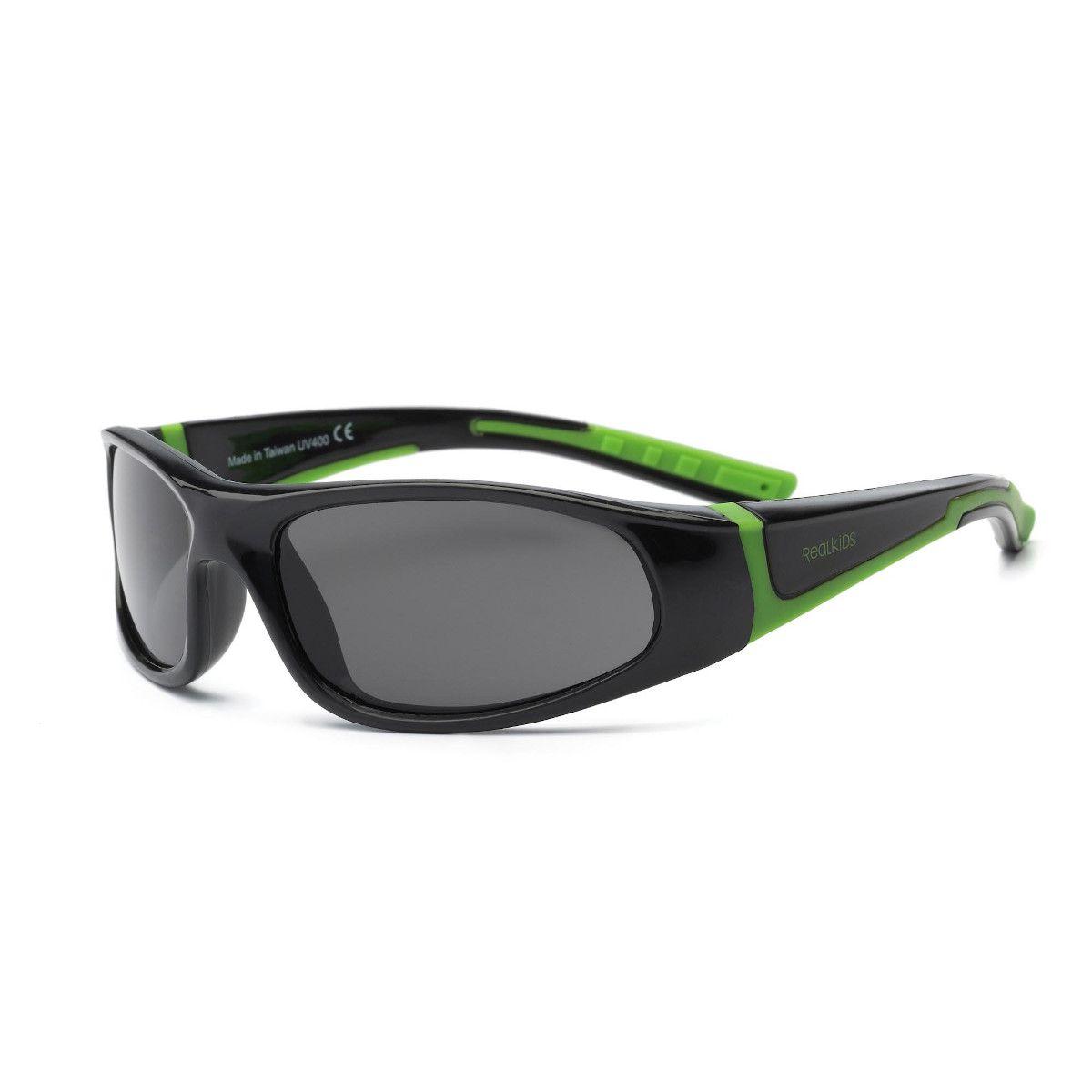 Óculos de Sol Bolt Preto e Verde Real Shades