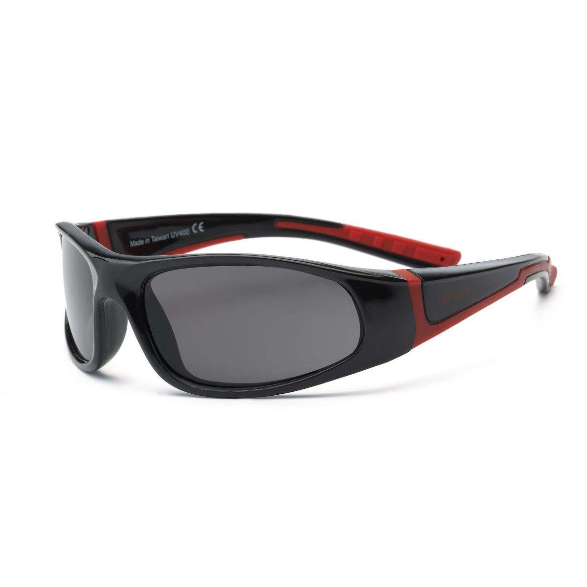 Óculos de Sol Bolt Preto e Vermelho Real Shades