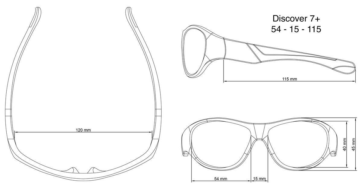 Óculos de Sol Discover Roxo e Rosa Real Shades