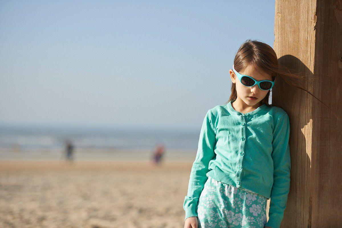 Óculos de Sol Explorer Azul e Rosa Real Shades