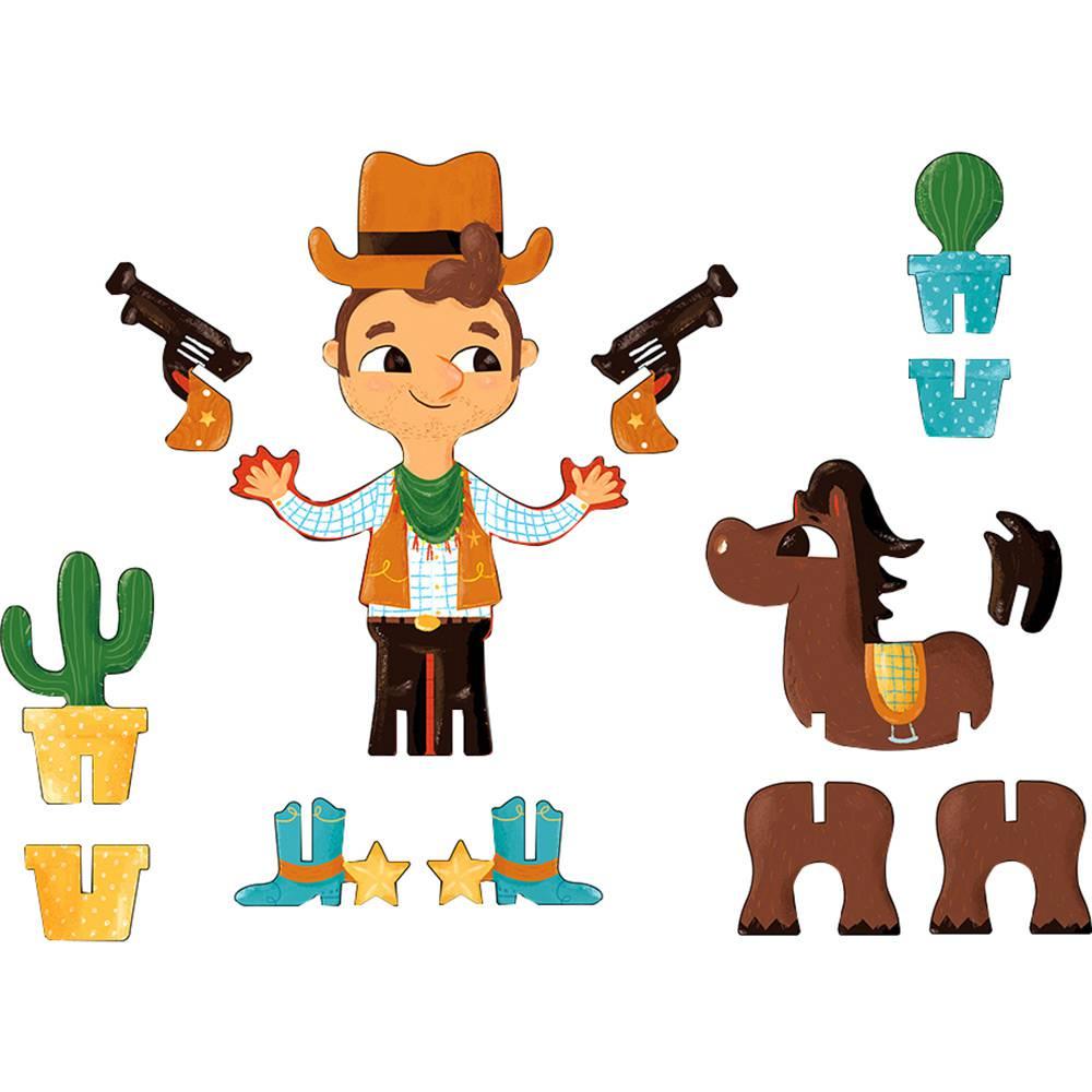 Personagens 3D Cowboy Krooom