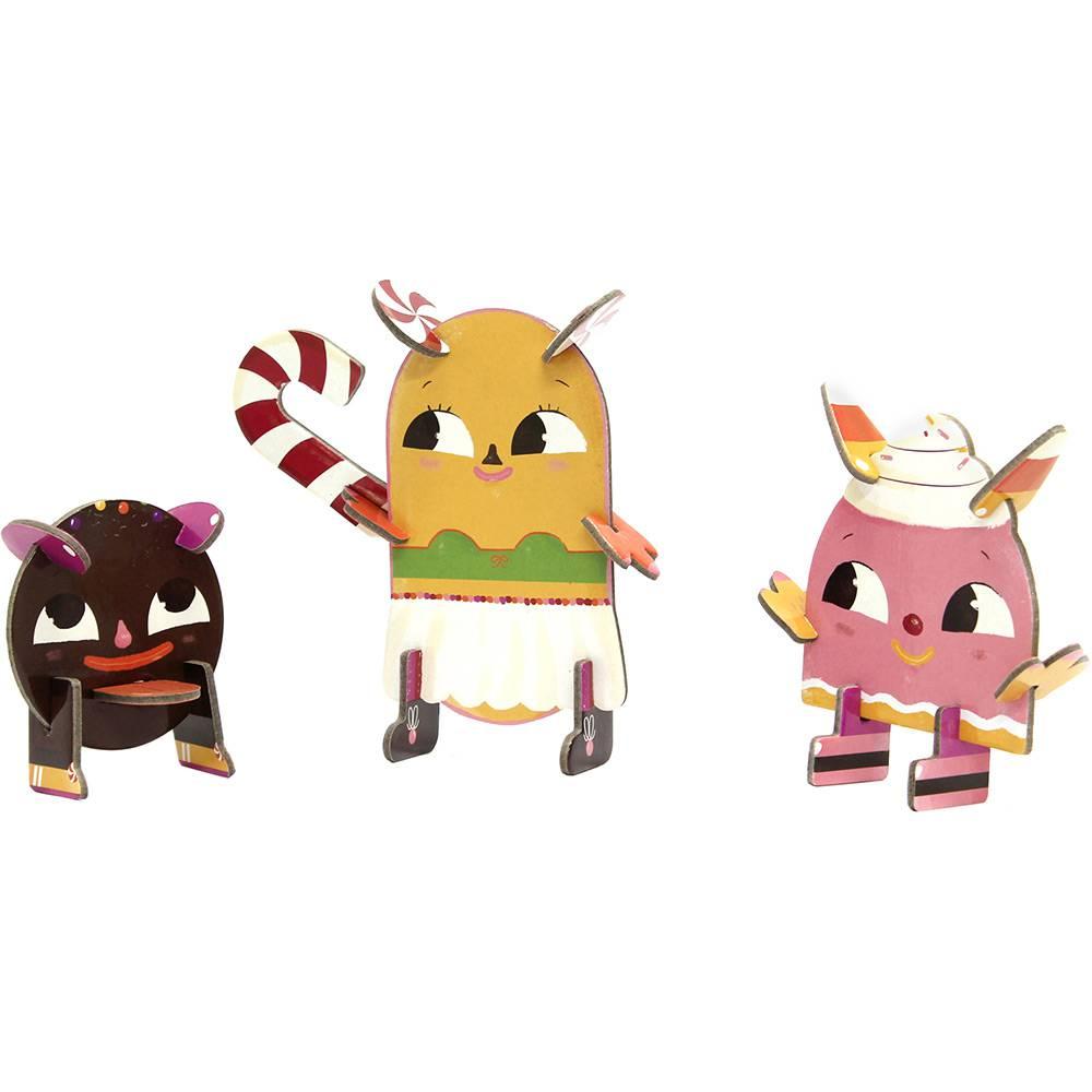 Personagens 3D Docinhos Krooom