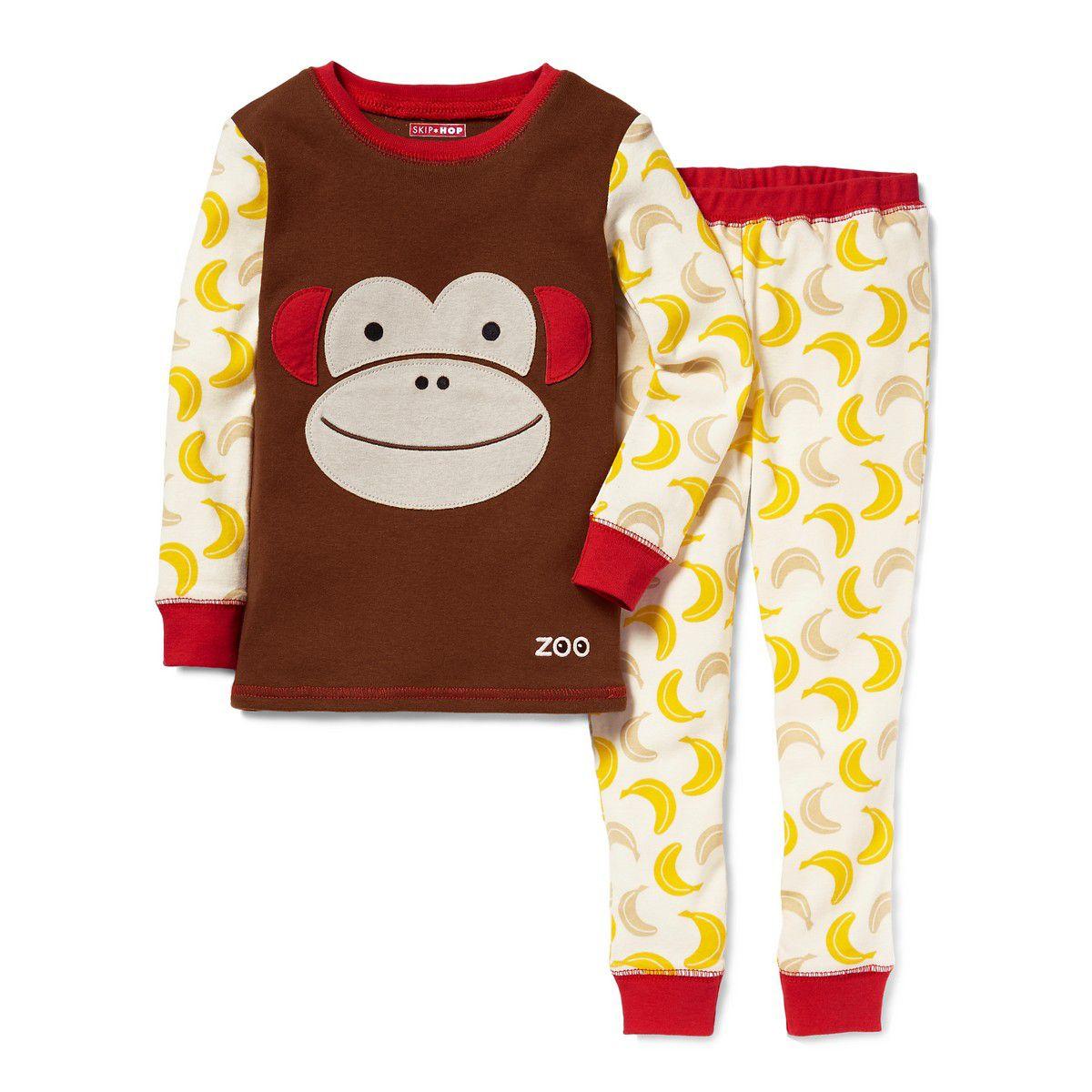 Pijama Zoo Macaco Skip Hop