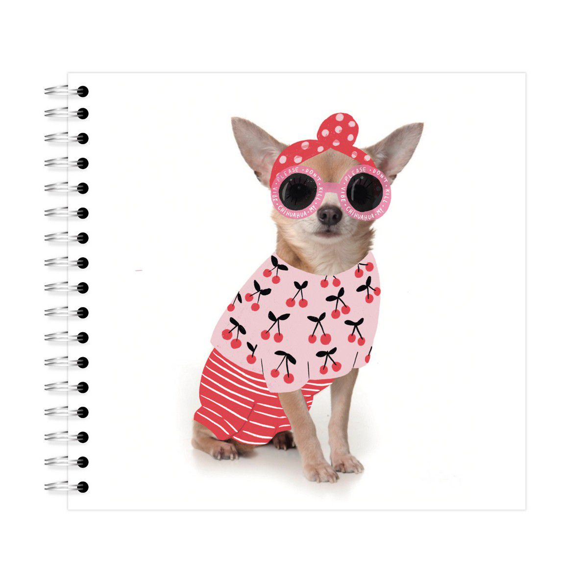 Planner Mensal Chihuahua Lubi
