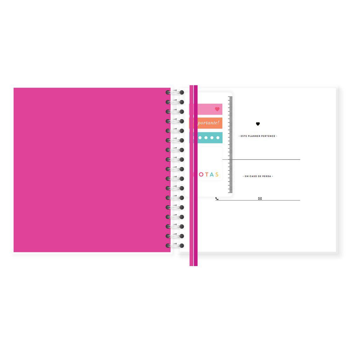 Planner Mensal Floresça Lubi