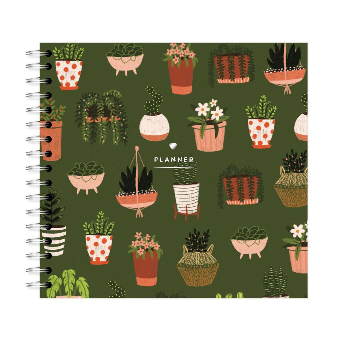 Planner Mensal Garden Vasinhos Lubi
