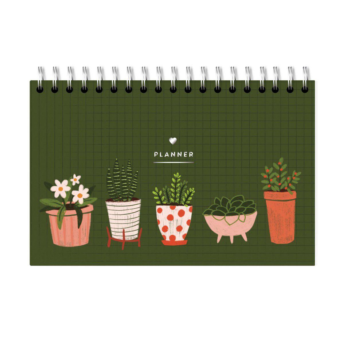 Planner Semanal Garden Vasinhos Lubi