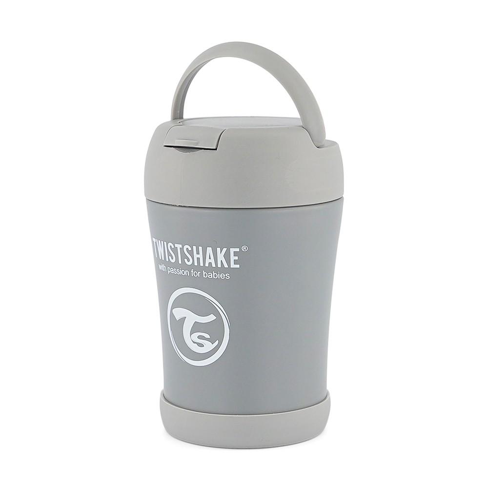 Pote Térmico 350 ml Cinza Twistshake