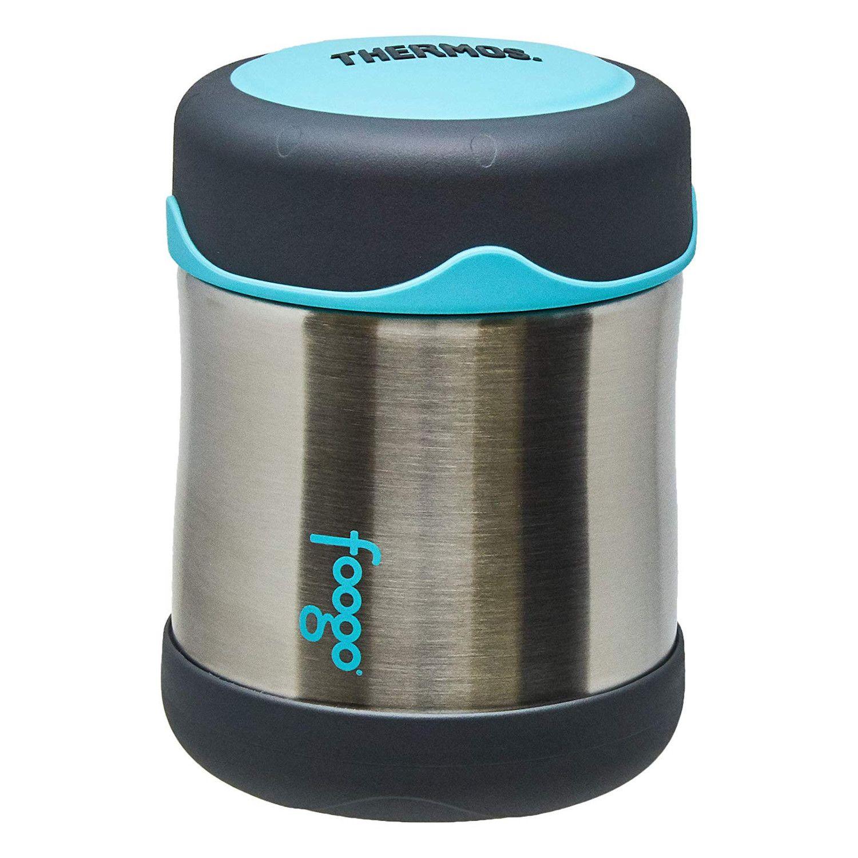Pote Térmico Foogo 290 ml Cinza e Azul Thermos