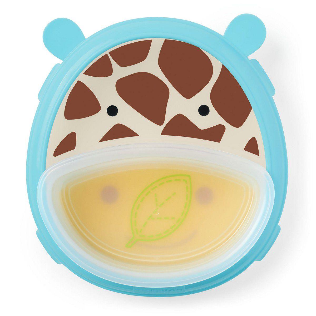 Pratos de Treinamento Zoo Girafa Skip Hop
