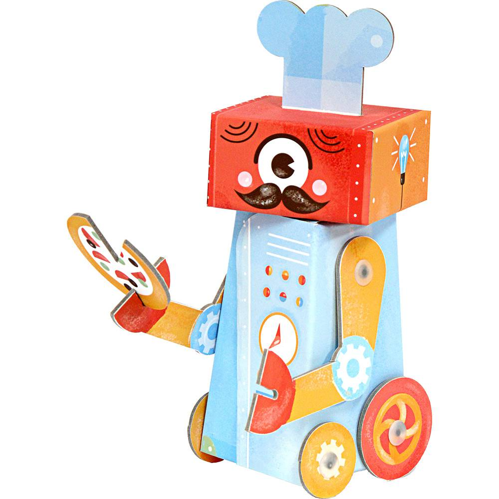 Robô de Brincar Chef Krooom