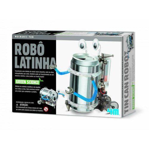 Robô Latinha 4M