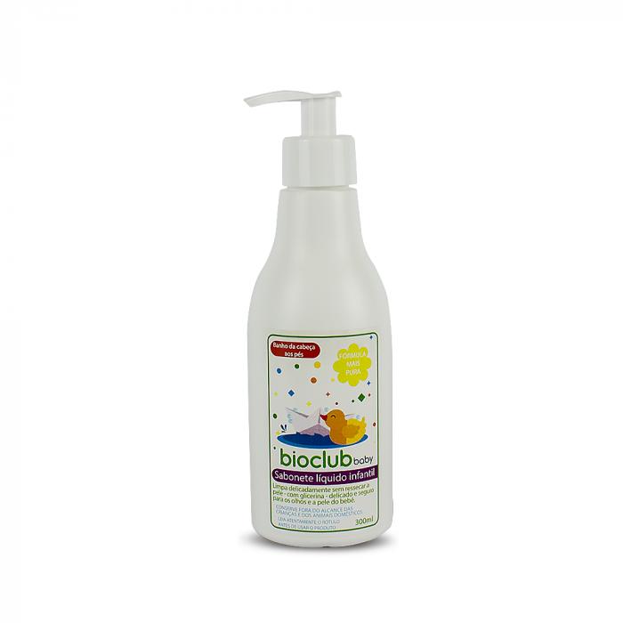Sabonete Liquido Infantil BioClub