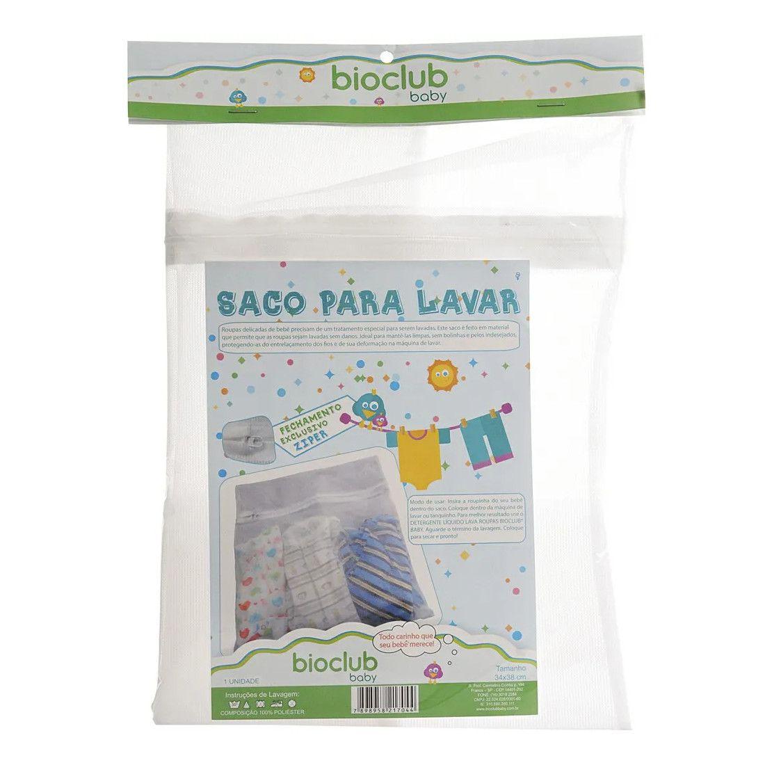 Saco para Lavar Roupas  BioClub