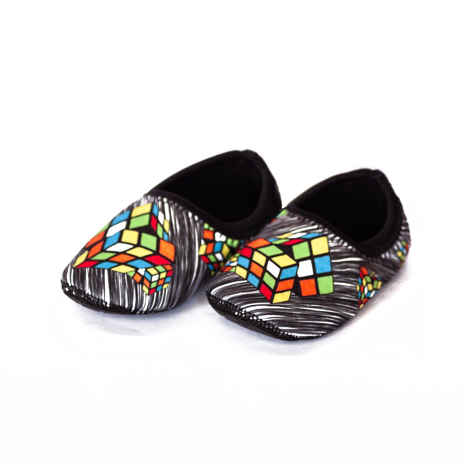 Sapato de Neoprene Infantil Fit Cubo Ufrog