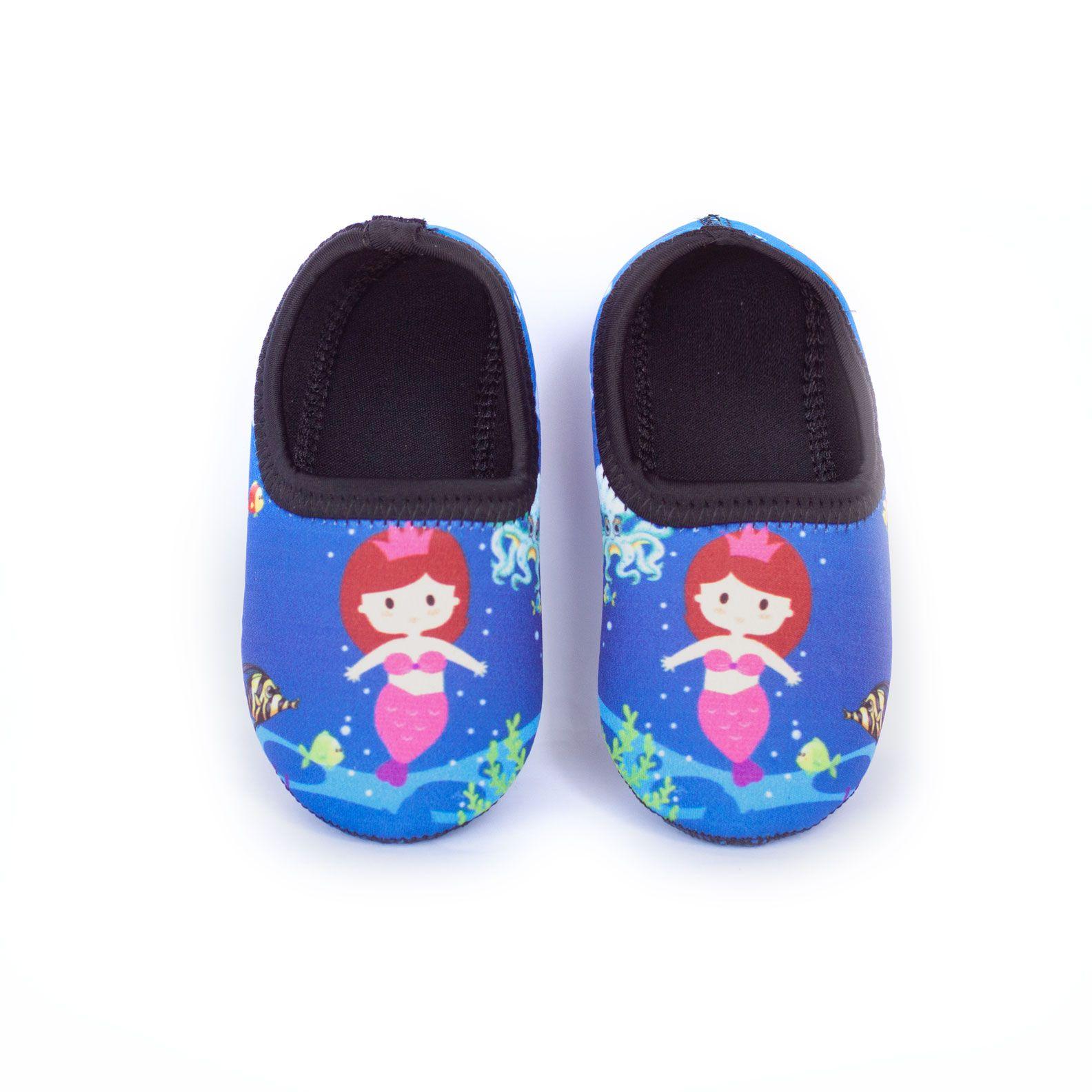 Sapato de Neoprene Infantil Fit Sereia Ufrog