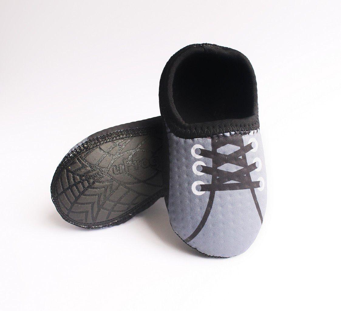 Sapato de Neoprene Tenis Grafite 23-24 Ufrog