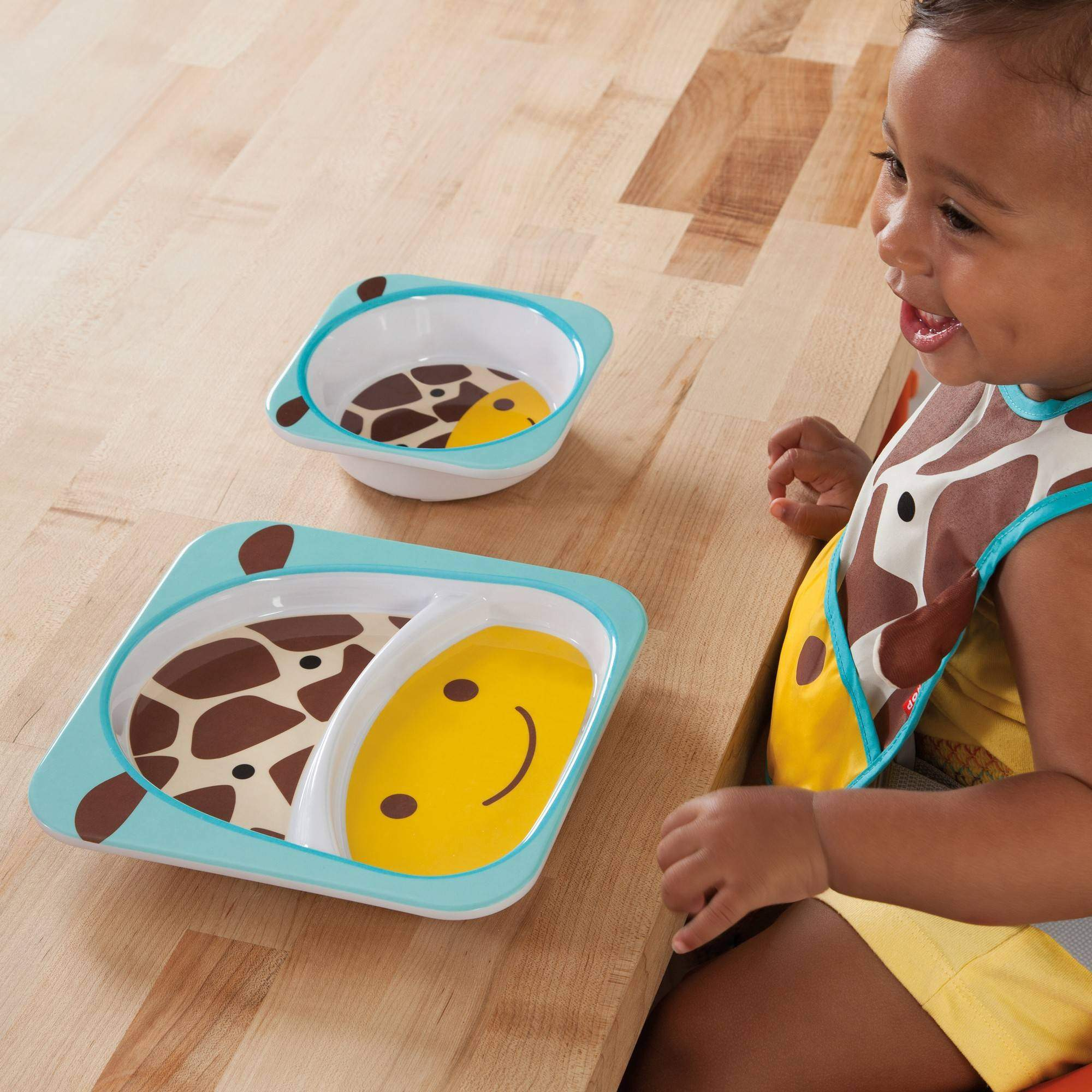 Set de Pratos Zoo Girafa Skip Hop