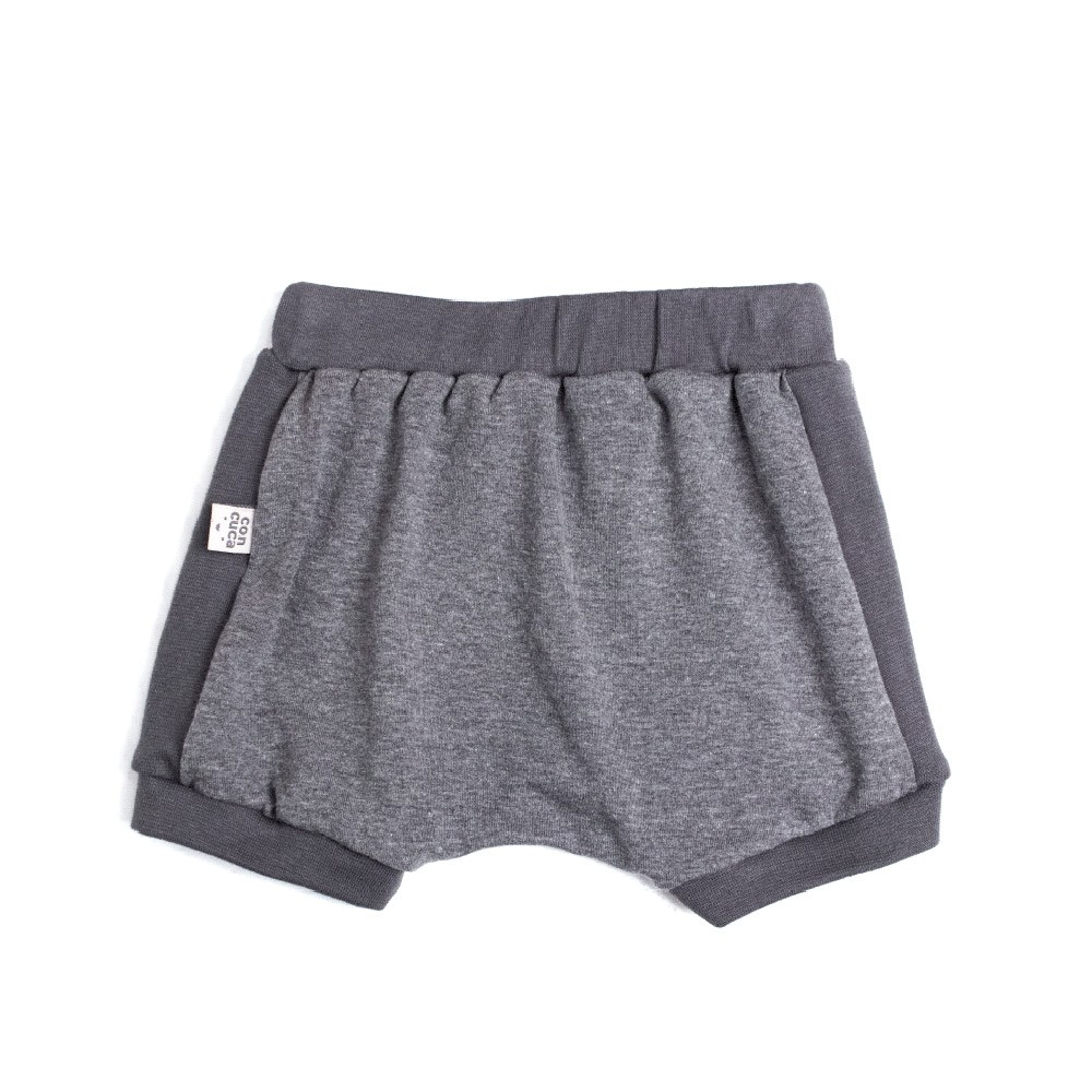 Shorts Tapa Fralda Stone Chumbo Concuca