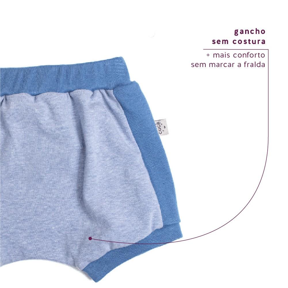 Shorts Tapa Fralda Stone Jeans Concuca