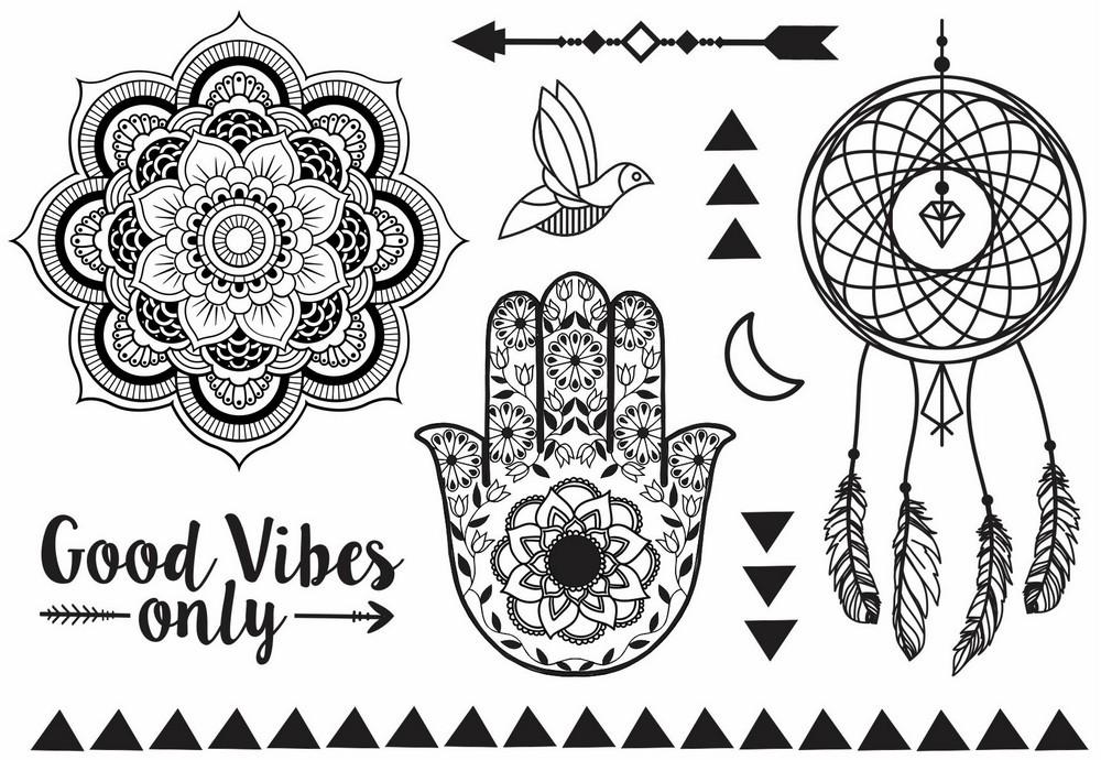 Tatuagem Temporária Energia Design Temporario