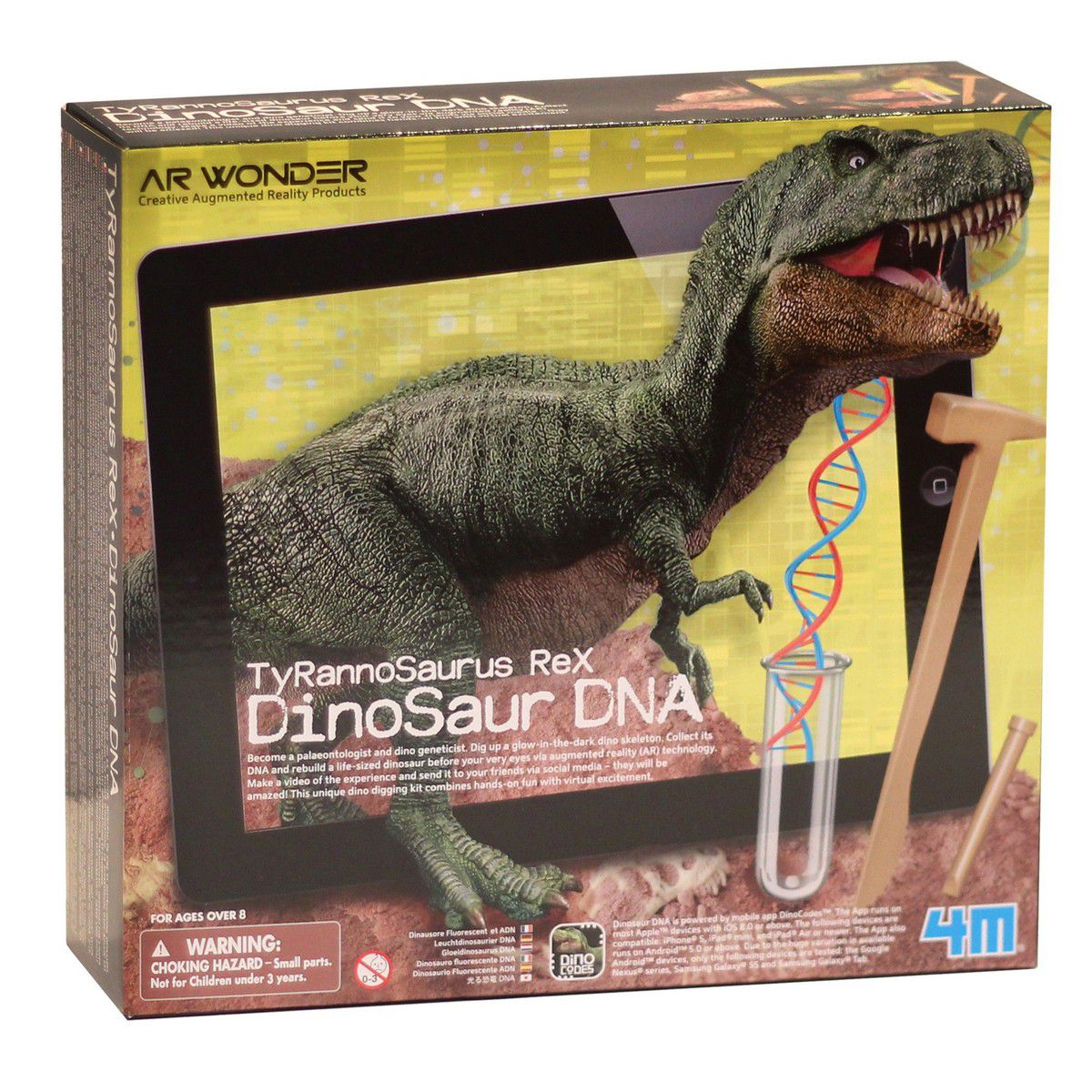 Tiranossauro Rex Dino DNA  4M