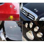 Adesivo 3D pegada para carro decore seu automóvel