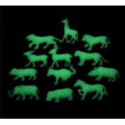 Adesivos Plásticos Animais que brilham no escuro decoração da casa do quarto creche