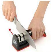 Amolador de faca 2 estágios Diamante & Ceramica para faca de cozinha afiar facas churrasco