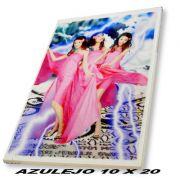 Azulejo 10x20cm Cerâmica Personalizado