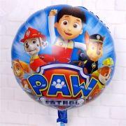 Balão Redondo da Patrulha Canina 2 unid para Decoração Festa de Aniversário