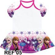 Body da Frozen com Sainha Personalizado