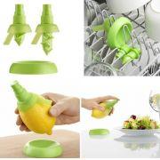 Borrifador Spray para limão ou laranja utilidade para cozinha temperar a salada