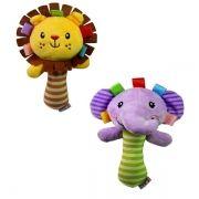 Brinquedo do Bebê Chocalho Animal de Pelúcia macia Boneco