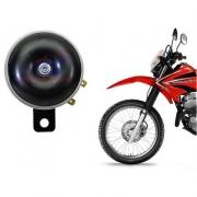 Buzina Alta Universal 12v 2 terminais Motos em geral