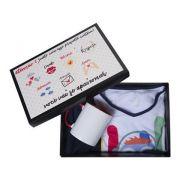 Caixa Preta Embalagem 21x30cm com tampa Personalizada