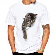 Camisa Algodão Personalizada com foto