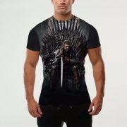 Camisa Camiseta 3D Série Game Of Thrones homens