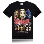 Camisa Rock SLIPKNOT Heavy Metal Algodão Casual
