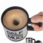 Caneca Mixer Mistura Automática café em aço inoxidável agita