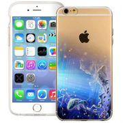 Capa Case Celular transparente fina Signos para iPhone 6 de 4.7''