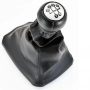 Capa Couro Coifa da Manopla Alavanca de Câmbio Manual de Marcha de Carro Veículo