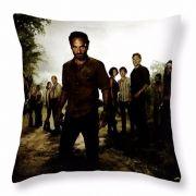 Capa de almofada The Walking Dead de Linho Grosso para Sofá