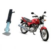 Cavalete Descanso Lateral Reforçado Regulagem Moto CG Fan Titan 125 150 160 e outras