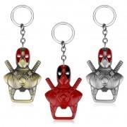 Chaveiro Abridor de Garrafa HQ Marvel X-men Deadpool