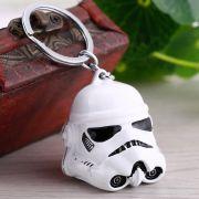 Chaveiro Máscara Stormtrooper do Filme Star Wars Capacete
